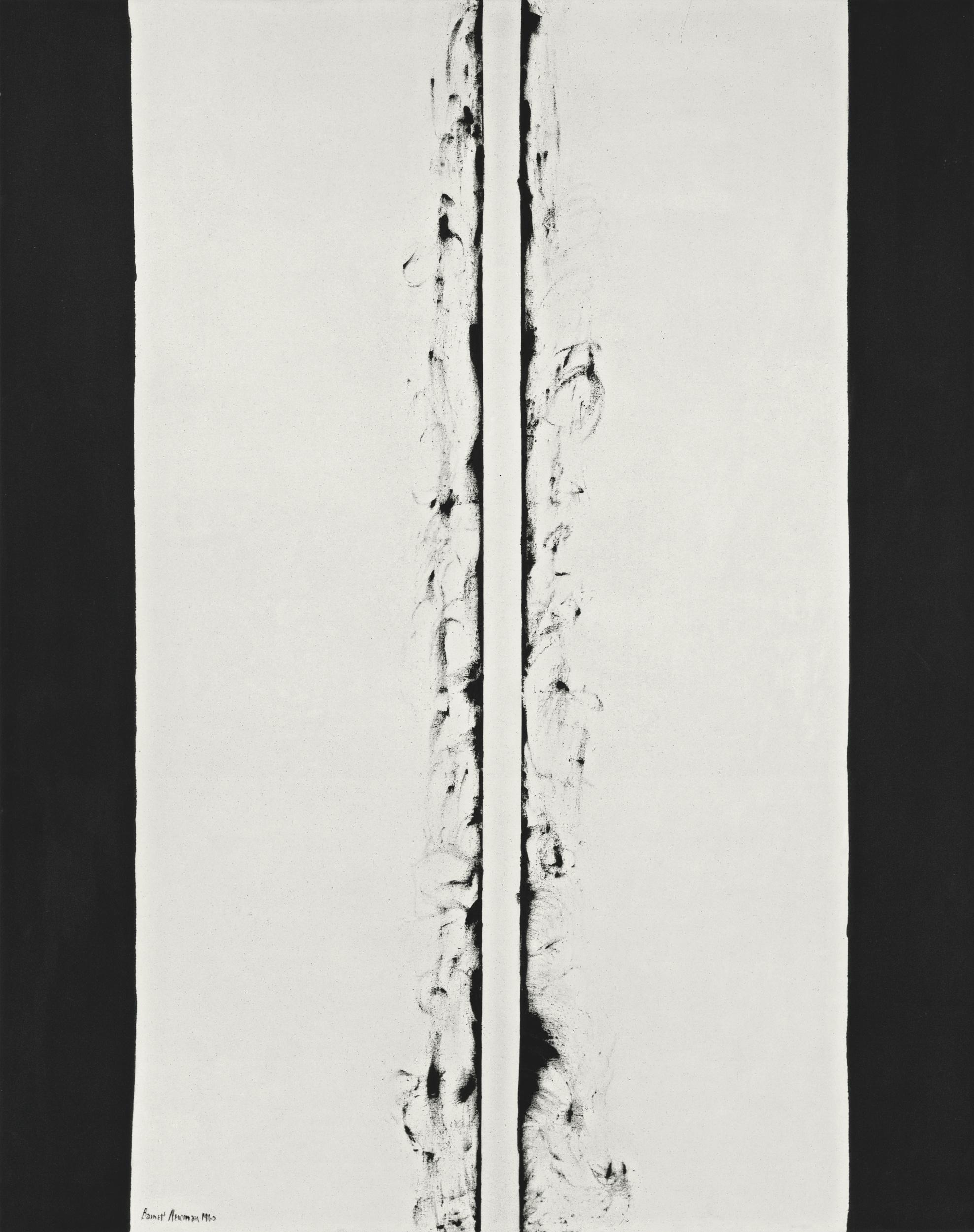 Barnett Newman, White Fire II, 1960. Kunstmuseum Basel