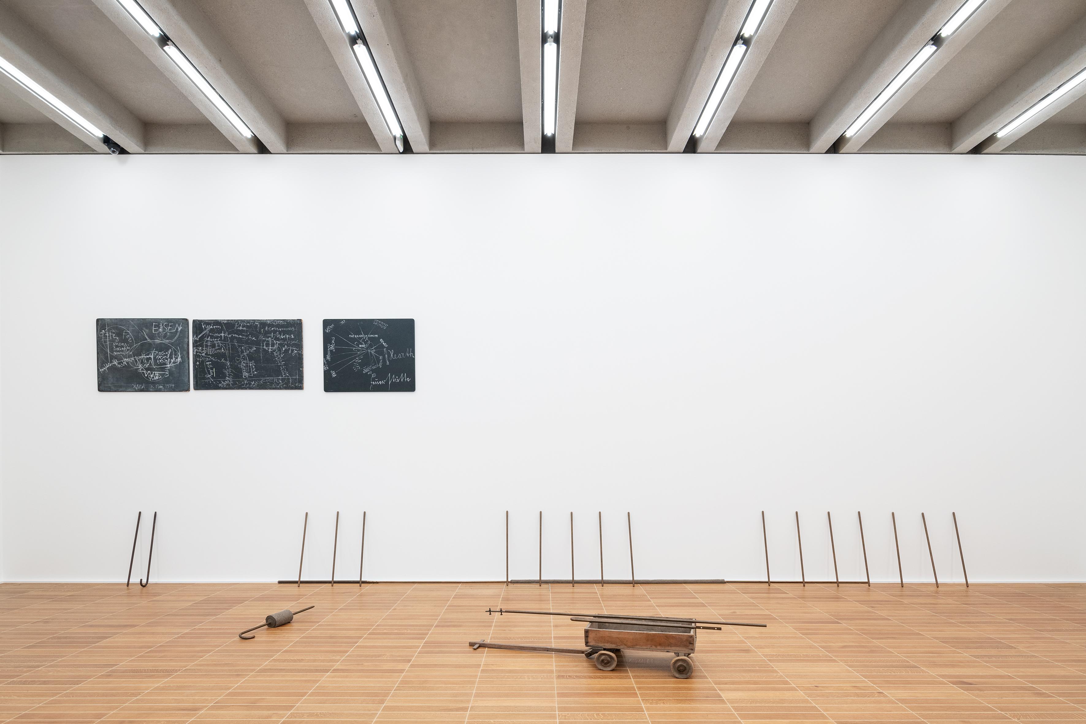 Joseph Beuys, THE HEARTH (Feuerstätte), 1968-1974, Kunstmuseum Basel, ©2021, ProLitteris, Zurich, Foto: Jonas Hänggi