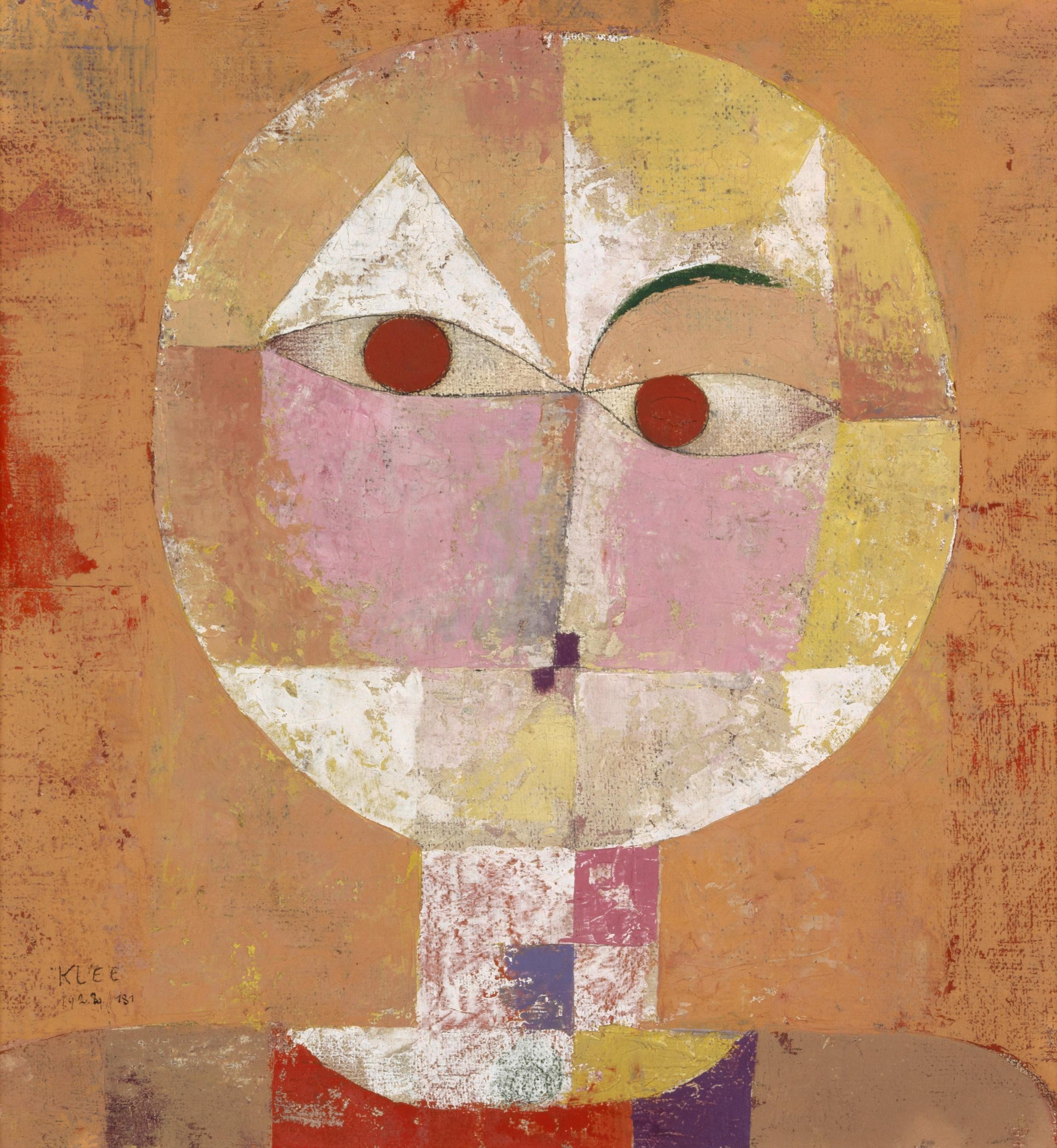 Paul Klee, Senecio, 1922. Kunstmuseum Basel