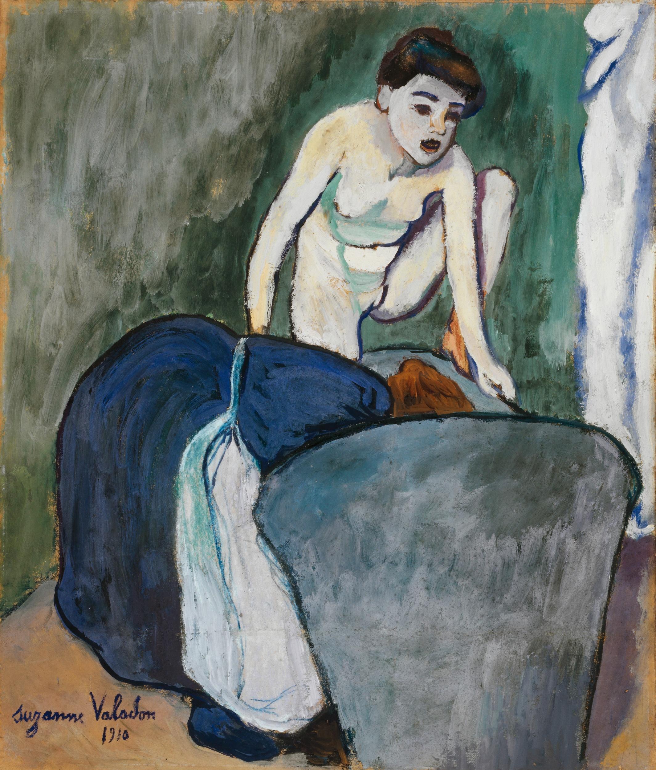 Suzanne Valadon, La Grenouille, 1910. Stiftung Im Obersteg, Depositum im Kunstmuseum Basel