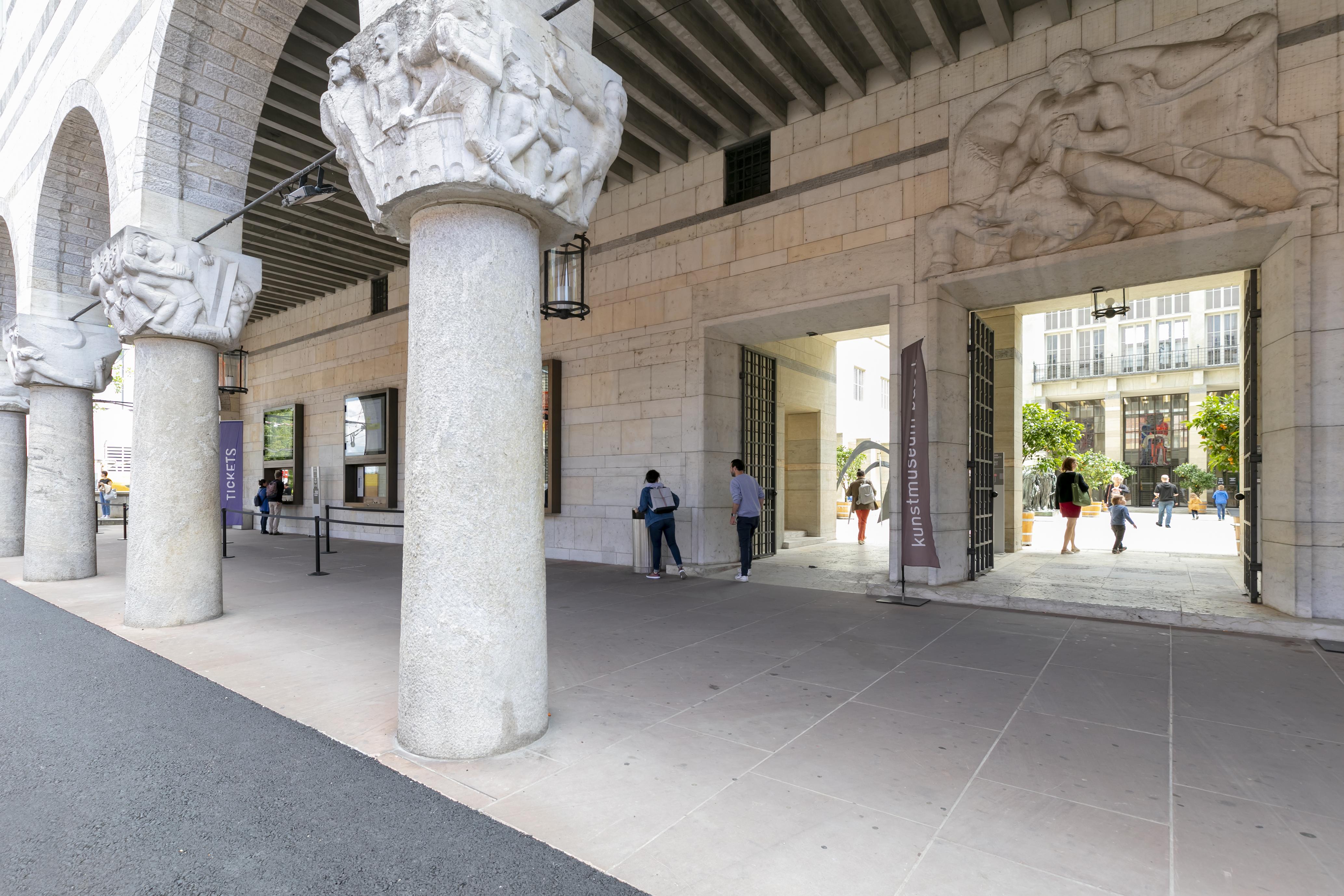 Der Hauptbau des Kunstmuseums Basel. Foto: Julian Salinas