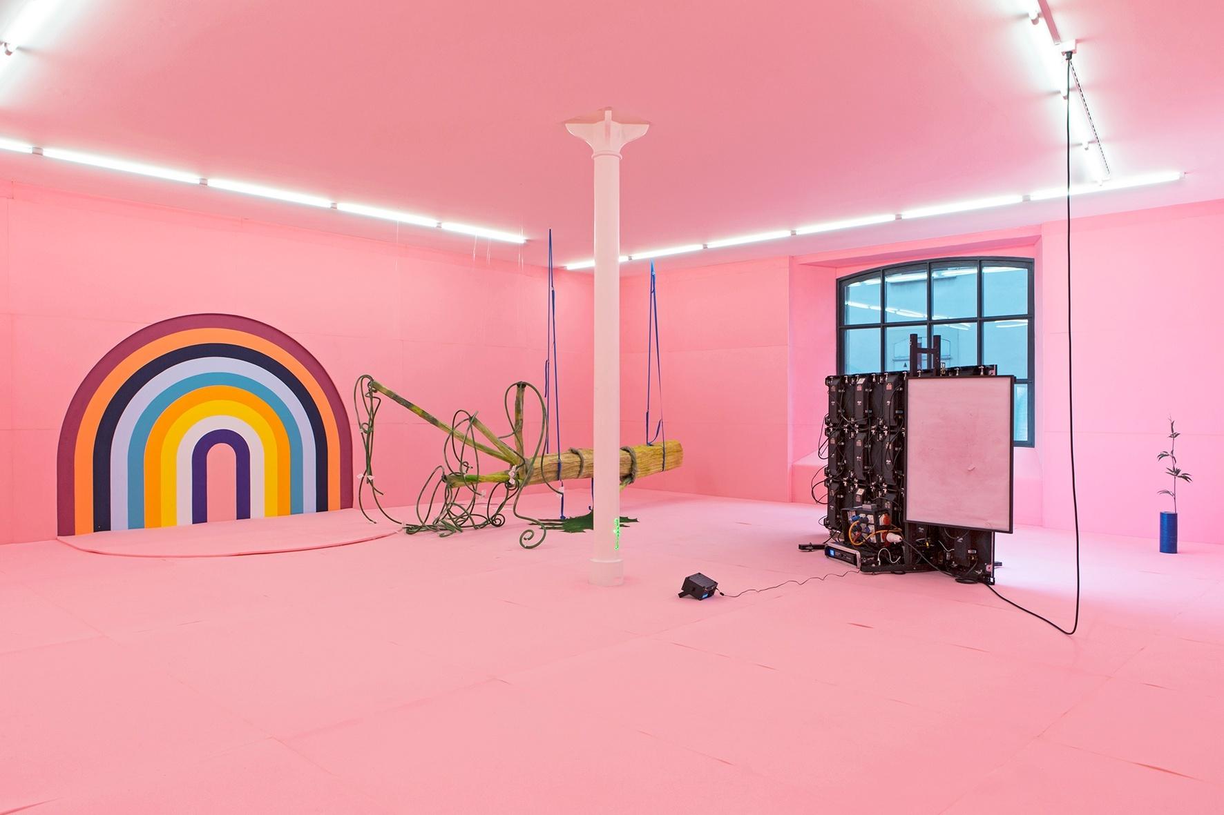 Vue d'installation «Johannes Willi. Free Willi 2», photo: Gina Folly