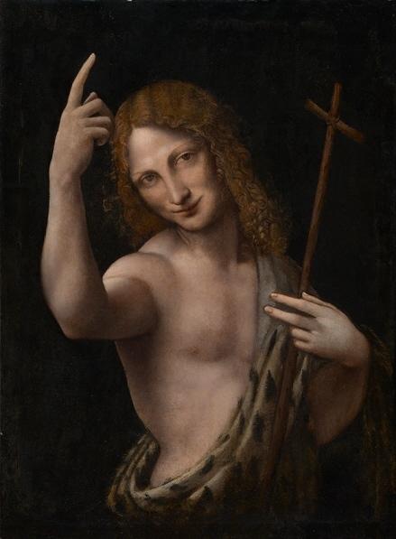 Leonardo da Vinci, Saint Jean-Baptiste, 1505/07, Kunstmuseum Basel