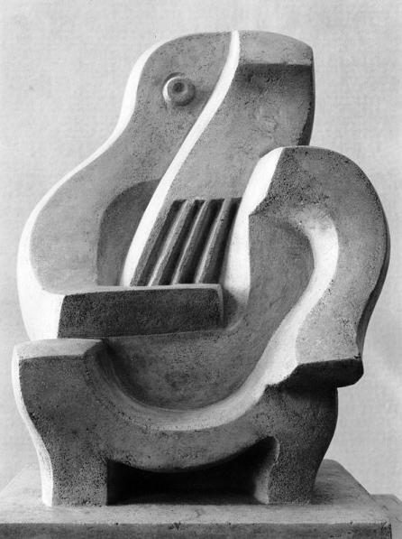 Jacques Lipchitz, Joueur de guitare, 1922. Kunstmuseum Basel