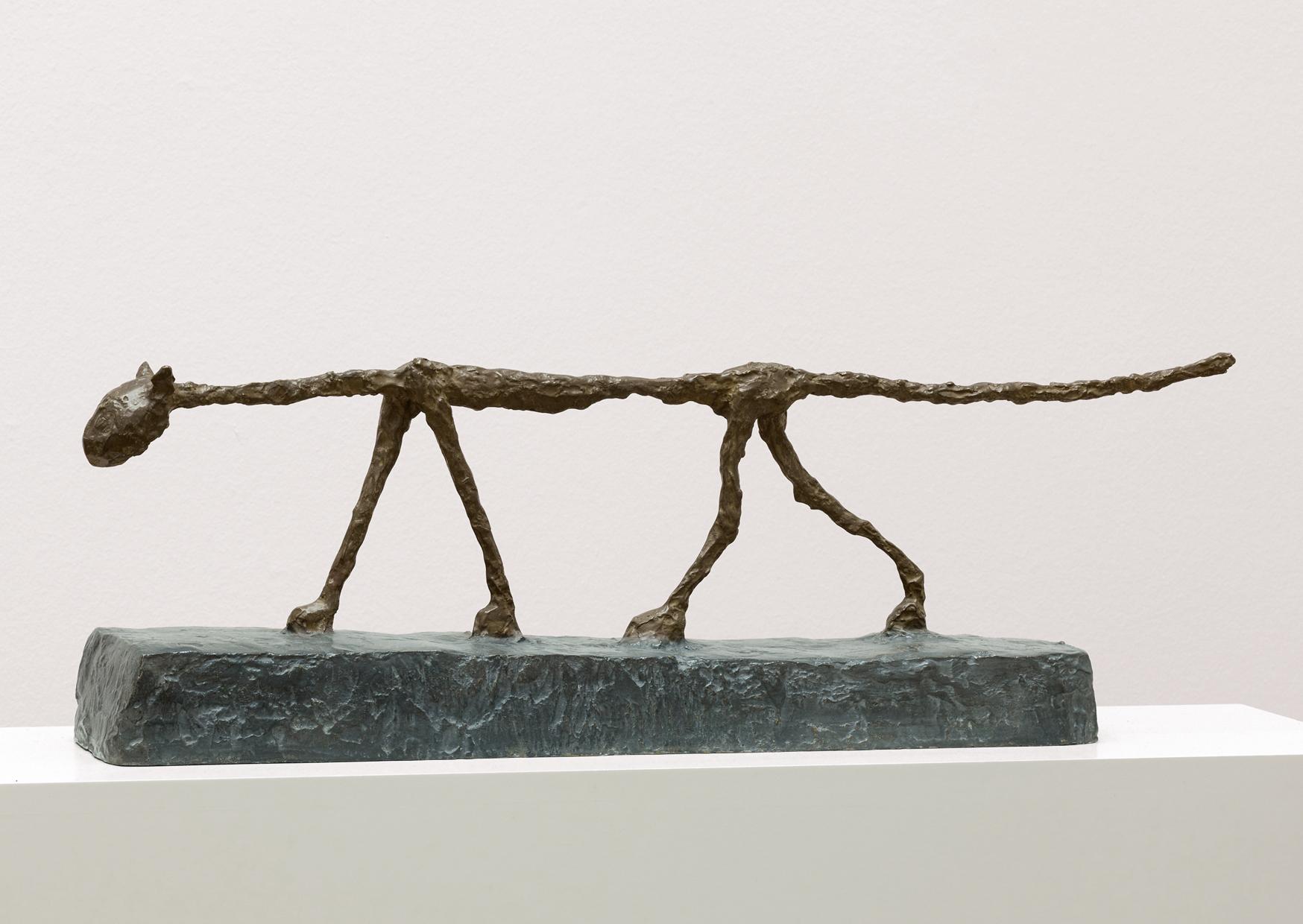 Alberto Giacometti, The Cat, 1951, Kunstmuseum Basel Depositum der Alberto Giacometti-Stiftung