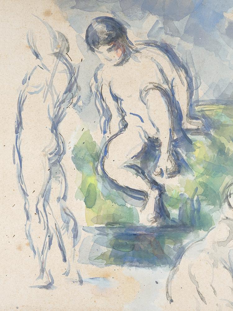 Paul Cézanne, Baigneurs, vers 1890, The Metropolitan Museum of Art, New York© 2017. Digital image, The Metropolitan Museum of Art /Art Resource/Scala, Florence