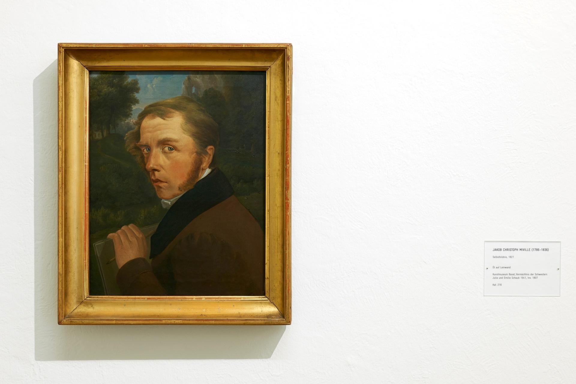 Jakob Christoph Miville (1786–1836) – Kunstmuseum Basel