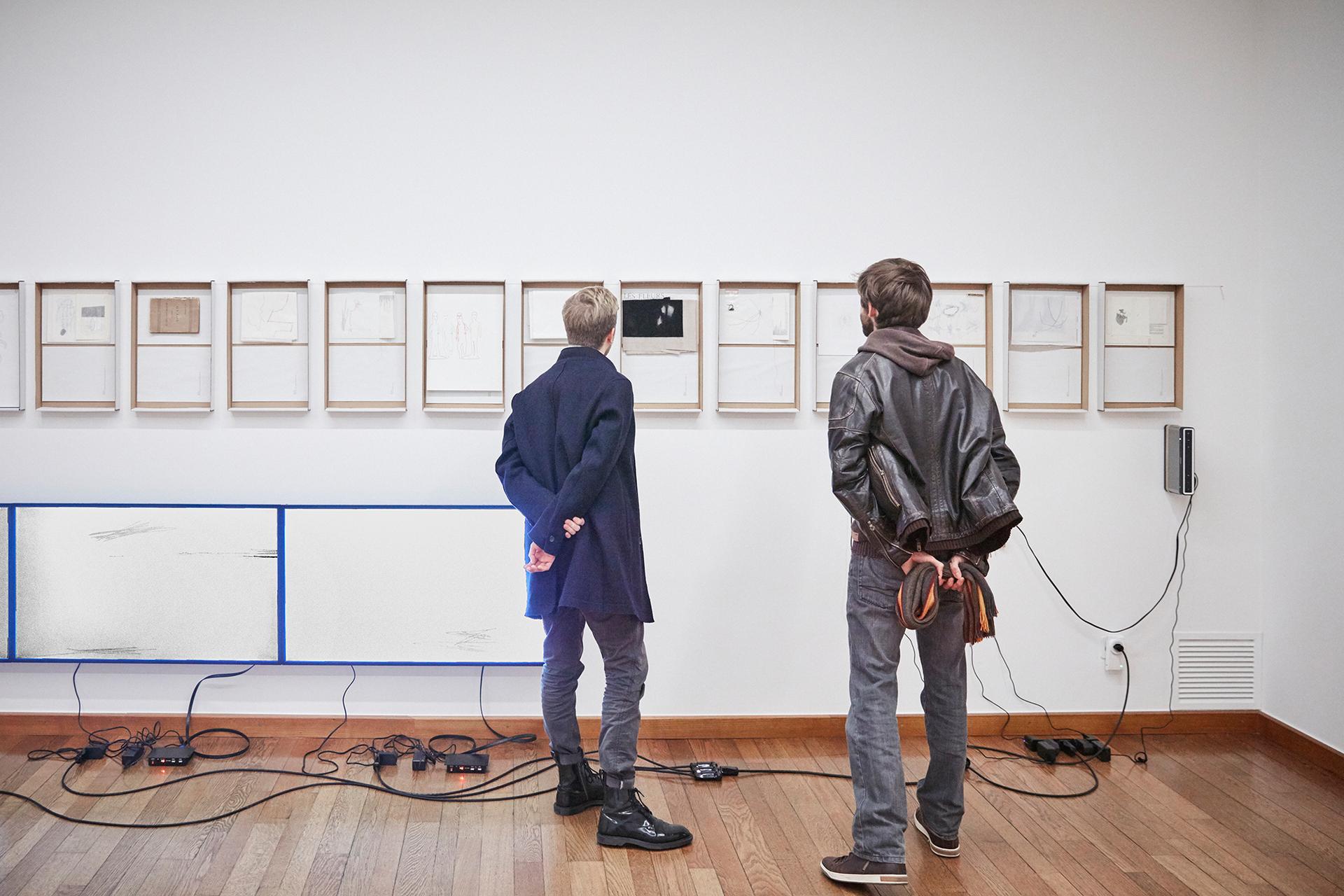 Installationsansicht der Ausstellung «Catharina van Eetvled / ILK», Foto: Kunstmuseum Basel, Julian Salinas